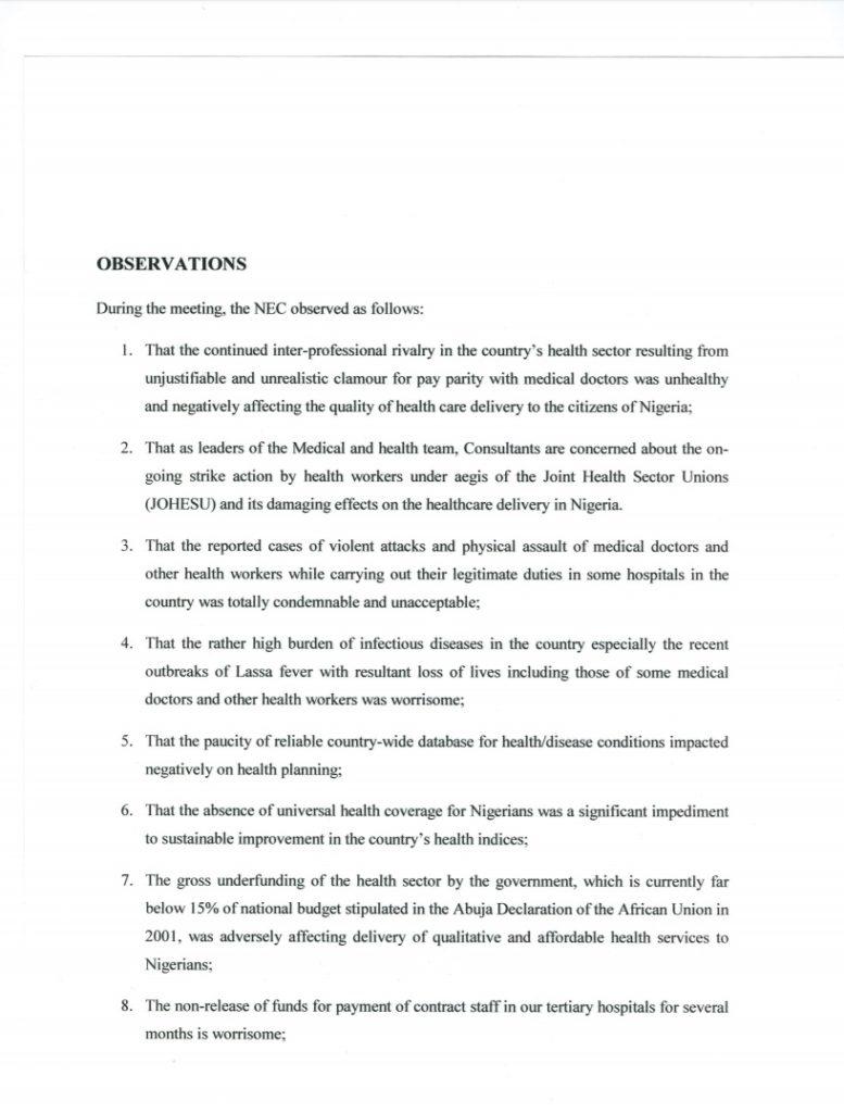 NEC Metting- Communique Page 2