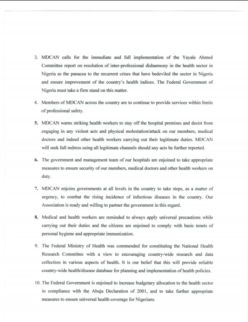 Communique Page 4