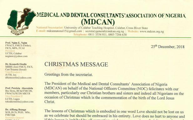 Christmas Message 28/2018